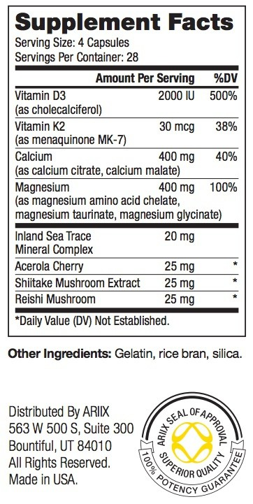 Magnical-D Supplement Facts