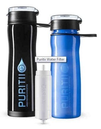 puritii water bottle