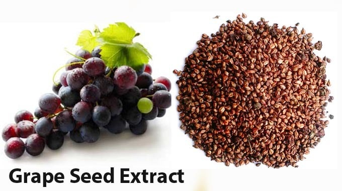Grape seed extract benefits for skin