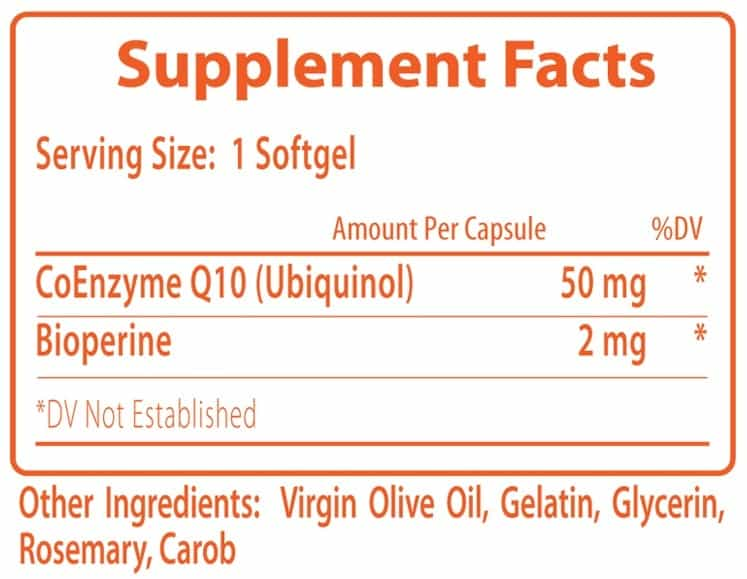 BioPro-Q Supplement Facts