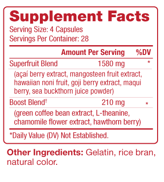 Rejeuveniix Supplement Facts